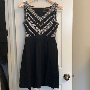 Cynthia Rowley black and white dress.